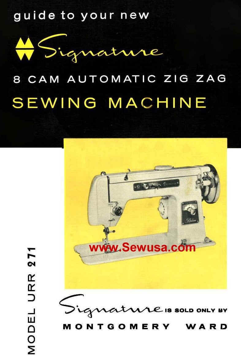 Montgomery Wards Sewing Machine Instruction And Service Manuals Sewusa Threading Diagrams Wpe1b1 69364 Bytes