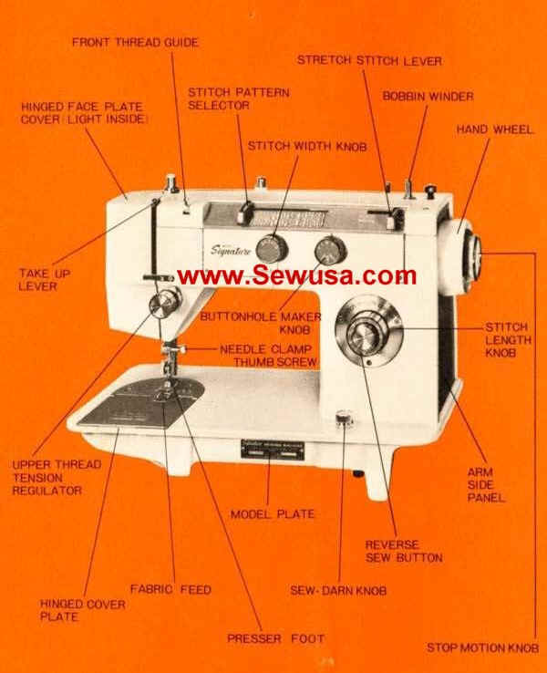 Montgomery Wards Sewing Machine Instruction And Service Manuals Gorgeous Montgomery Ward Sewing Machine Manual